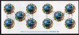 Carnet  N° BC 17 Avec Oblitération Cachet à Date De 2000 TTB - Autoadesivi