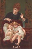 CPA  S HILDESHEIMER & CO HUSH FEMME ENFANT LADY CHILDREN - Musées