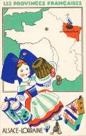 PUBLICITÉ - LES PROVINCES FRANCAISES - ALSACE ET LORRAINE - Edit. Produits Du LION NOIR - Publicité
