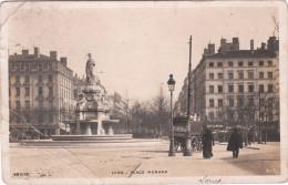 Carte Postale Ancienne De Lyon - Place Morand - Vers 1900 - Lyon