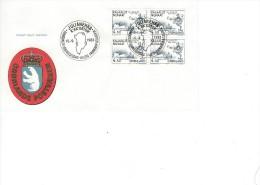 Hans Pothorst`s Expeditio To America.    Greenland. Fdc  H-671 - Polar Philately