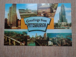 CPA PHOTO ETATS UNIS PITTSBURG MULTI VUES - Pittsburgh