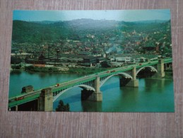 CPA PHOTO ETATS UNIS PITTSBURG THE WASHINGTON CROSSING BRIDGE AT FORTIETH STREET - Pittsburgh
