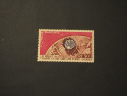 POLYNESIE FR. - P.A. 1962 TELECOMUNICAZIONI - NUOVO(++) - Poste Aérienne