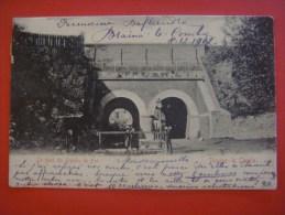 BRAINE - LE - COMTE --- Le Pont Du Chemin De Fer ( Pont L'Incluse Lincluse ) --- 1902 - Braine-le-Comte