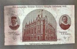 KRISTIANIA (OSLO) - Calmeyergatens Missionshus - Kongres 1912 - Wesleyan Church - Norvegia
