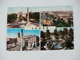 LECCE - Quattro Vedute - 1974 - Lecce