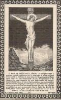 DP. JULES DE POORTER - ° ST GENOIS - + DOTTIGNIES 1891 - 61 ANS - Religione & Esoterismo