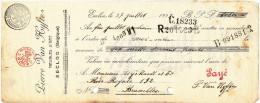 MEUBLES D´ ART Rudolf Ou Pierre Van Hyfte à EECLOO - 1 Facture + Fiscaux Et 2 Mandats 1922/23  --  22/519 - Belgium