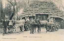 LANDES - Anciens Attelages - Non Classificati