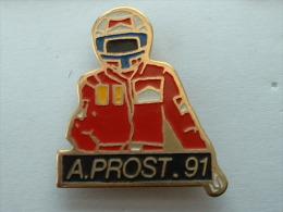 PIN´S F1 - A.PROST 91 - F1