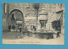 CPA 906 - La Fontaine Et La Place Peyra VENCE 06 - Vence