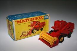 Matchbox Lesney 65-C-1 CLAAS COMBINE HARVESTER + Original Box, Issued 1967 - Matchbox (Lesney)