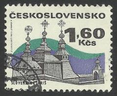 Czechoslovakia, 1.60 K. 1971, Sc # 1734, Mi # 1987, Used. - Czechoslovakia