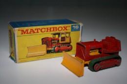 Matchbox Lesney 16-D-2 CASE BULLDOZER + Original Box, Issued 1969 - Matchbox (Lesney)
