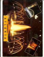 2US GA 484 John Hinde Curteich Photo Alain Schein, N,Y,C -Atlanta Underground - 2 Scans -1 Stamp Chester W.Nimitz 199 5 - Atlanta