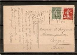 Flamme Jeux Olympique 1924 - Commemorative Labels