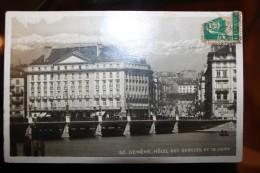 PP - Suisse - GENEVE - Hotel Des Bergues Et Le Jura - GE Genève
