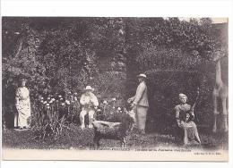 25492 CLERMONT-FERRAND. Jardins Fontaine Pétrifiante 1906   -coll VDC Ed -mouton Giraffe - Clermont Ferrand