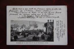 SAINT PIERRE ET MIQUELON  - Incendie De L'Eglise ST Pierre Dans La Nuit Du 1er Au 2 Novembre 1902 - Saint-Pierre-et-Miquelon