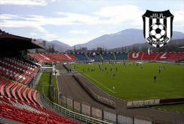 Stadium Stadionul Jiul (CS Jiul Petrosani, Romania) Postcard - Size: 15x10 Cm. Apr. - Fútbol