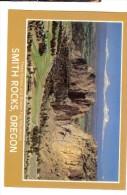 J & H Sales Photo Ray Atkeson -  Smith Rocks, Oregon : Three Sisters And Broken Top Mountains - Non Classés