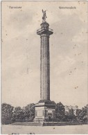 1364c: Waterloosäule In Hannover, Gelaufen 29.07.1911 - Monuments