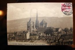 PP - Suisse - GENEVE - CATHEDRALE ST PIERRE ET LE SALEVE - GE Genève
