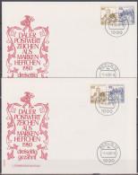 Berlin 1980 W 65 + W 66  Burgen Und Schlösser Auf Brief  ( D 3370 ) - [5] Berlin