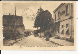 Baerenthal  Rue Principale  Et Hotel Du Tilleul - Francia