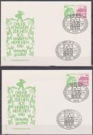 Berlin 1980 W 77 + W 78  Burgen Und Schlösser Auf Brief  ( D 3371 ) - [5] Berlin