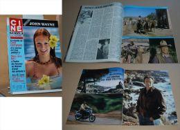Ciné Revue N° 24 14/6/79 Spécial John Wayne, Clint Eastwood Etc Voir Annonce - Cinema