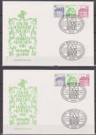 Berlin 1980 W 75 + W 76  Burgen Und Schlösser Auf Brief  ( D 3372 ) - [5] Berlin