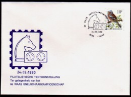 Belgie - Schaken Schach Chess - Temse 24.03.1990 - Echecs
