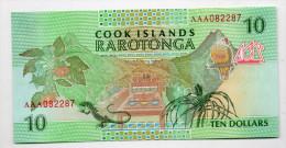 COOK : 10 $ 1992 (unc) - Cook