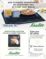 Telefonkarte Frankreich - Werbung - Sauter - Lebensmittel - 12/97 - 50 Units - Frankreich