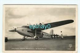 Br -  93 - LE BOURGET -  Avion Saoia Marchetti De Paris Rome  - Aviation -cliché Tito - RARE - Aerodrome