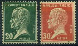 France : N° 172 Et 173 Nsg Année 1923 - 1922-26 Pasteur