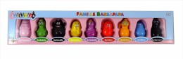 LOT 9 FIGURINES - FAMILLE BARBAPAPA  - TOHO - NEUF - Figurines