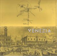 VENEZIA - Carte Géographique (En Partie Quadrilingue - Anglais - Français - Allemand - Italien) - Cartes Géographiques