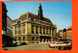 CHARLEROI : Hôtel De Ville (automobiles (pli Coin Gauche)) - Charleroi