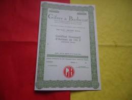 GIFRER & BARBEZAT (decines,rhone) - Non Classés