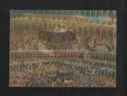 Saudi Arabia 3 D Picture Postcard Holy Mosque Ka´aba Mecca Islamic Islam Plastic View Card - Saudi Arabia