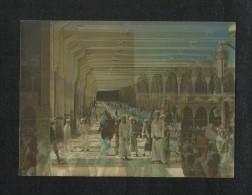 Saudi Arabia 3 D Picture Postcard Holy Mosque Ka´aba Mecca Islamic Islam Plastic View Card - Arabie Saoudite