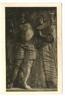 Kletzke, Grabstein Eines Ritters V. Quitzow - Kletzke