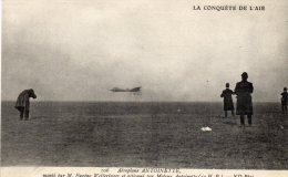 LA CONQUETE DE L'AIR  - Monté  Par M.Eugene Welferinger Et Actionné Par Moteur Antoinette - Carte Publicitaire - Autres