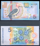 SURINAM / SURINAME 5 GULDEN YEAR 2000 * P 146 * UNC BANKNOTE - Surinam