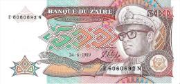 Zaire - Pick 34 - 500 Zaires 1989 - Unc - Zaire