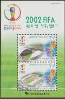 O) 2002 KOREA, FIFA - WORLD CUP  KOREA JAPAN - MASCOT, STADIUM, ARCHITECTURE,SOUVENIR MNH - Korea (...-1945)