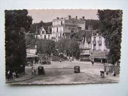 61 BAGNOLES-de-l'ORNE Hôtel SPLENDIDE 14 Avenue De La Gare Mobylette Bleue - Bagnoles De L'Orne
